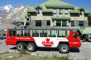 Canada Ice Explorer Bus