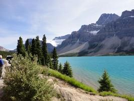blue lake landscape photo