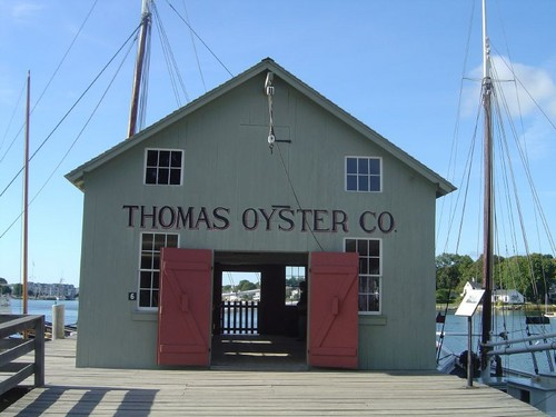 Thomas Oyster Boat Shed