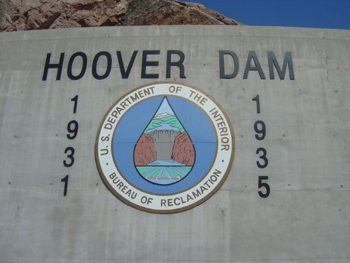 Hoover Dam Sign Photo