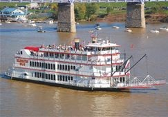 Steam Boat on the Mississippi River